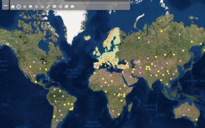 Geografía en la nube con un atlas interactivo