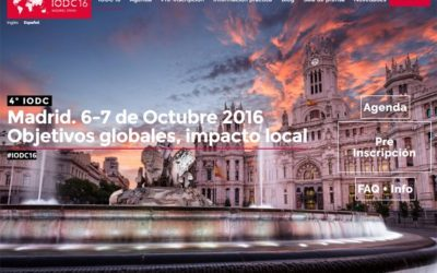 IODC16, el evento más internacional sobre open data se celebra en Madrid