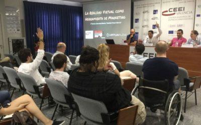 Empresas valencianas de realidad virtual presentan sus propuestas en CEEI Valencia