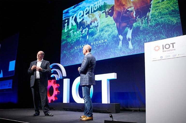 Un momento de la anterior edición del IoT de Barcelona.