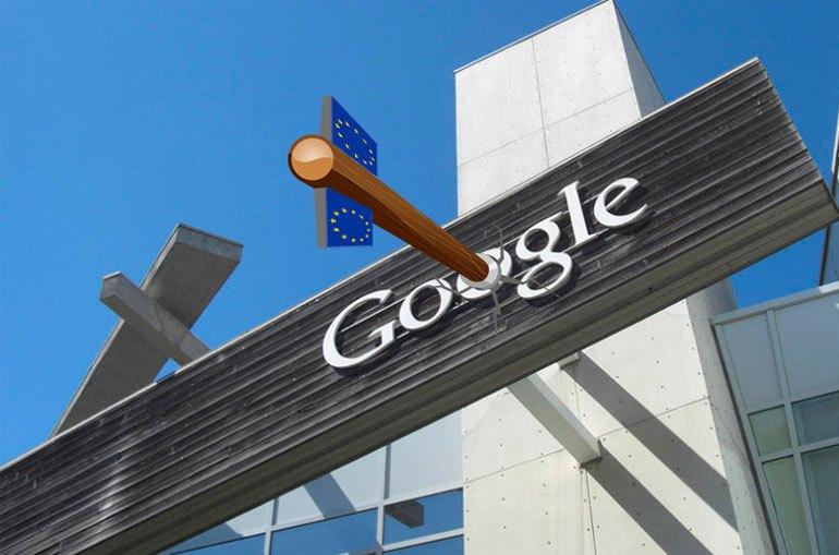 multa de la UE a Google