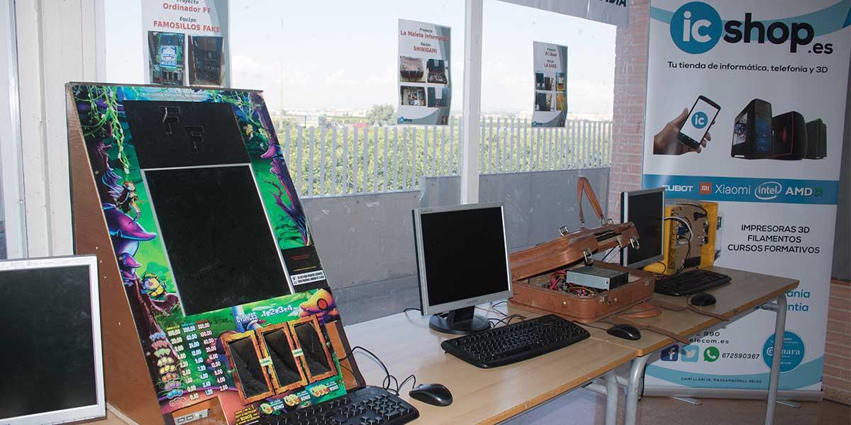 Proyecto ganador del I Concurso de Modding en el Instituto de Foios