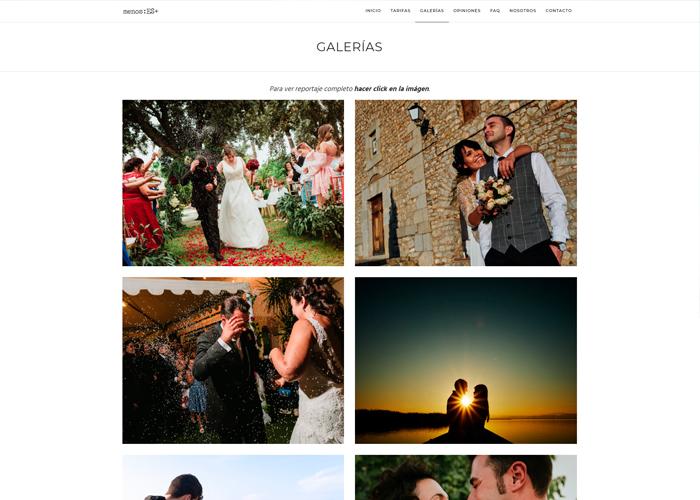 Menosesmasfotografos página web