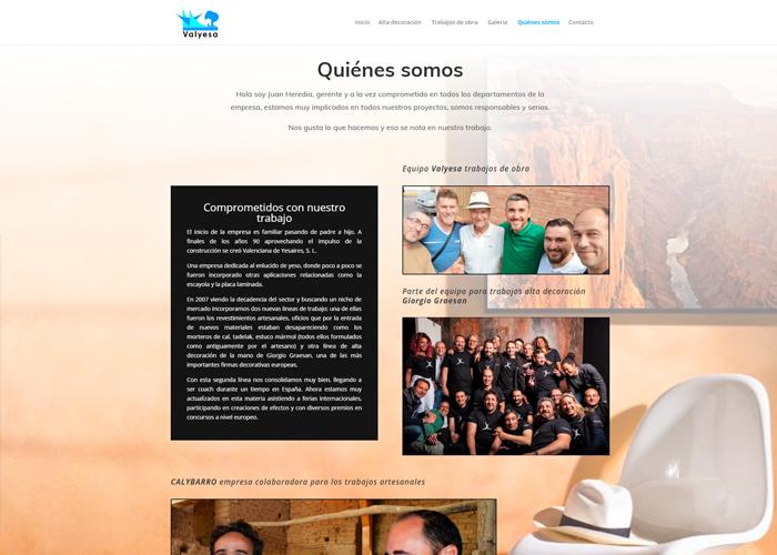 Valyesa página web