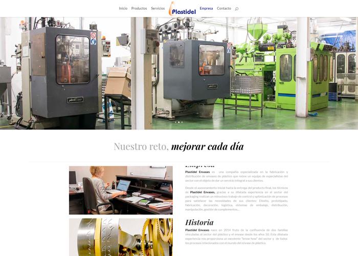 Plastidel página web